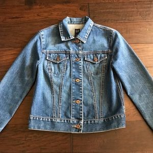 GAP Faded Denim Jacket